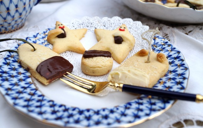 Weihnachtsplätzchen Himmelsbote & Mandel-Teebeutel