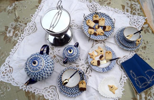 Teatime mit Himmelsboten & Mandel-Teebeutel