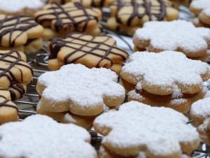 Weihnachtsbäckerei °Blütenplätzchen