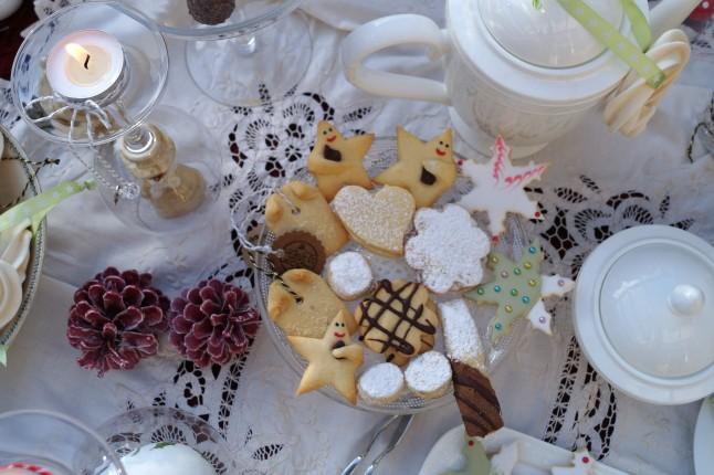Tischdekoration Weihnachten °Weihnachtsplätzchen