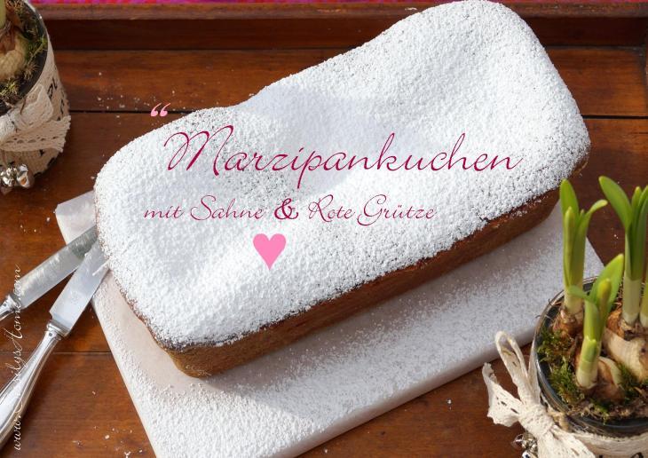 Titelbild Marzipankuchen