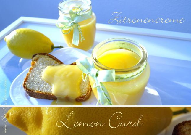 Titelbild Lemon Curd Zitronencreme