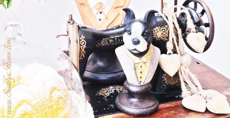 Interieur Figur Hund