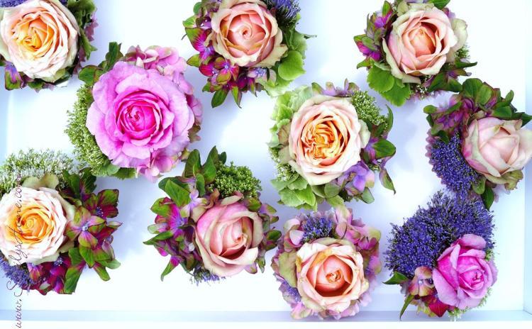 Muffins mit Blumen 14