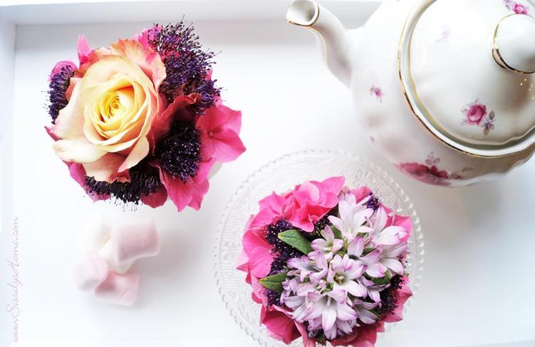 Muffins mit Blumen 24
