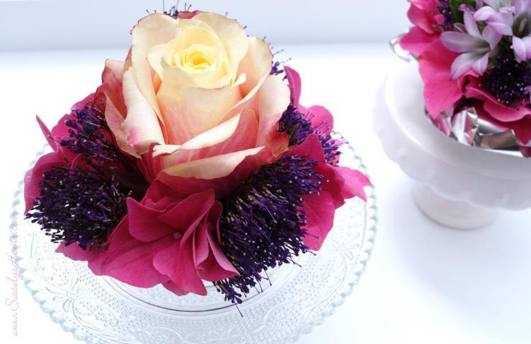 Muffins mit Blumen 30
