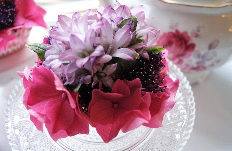 Muffins mit Blumen 32