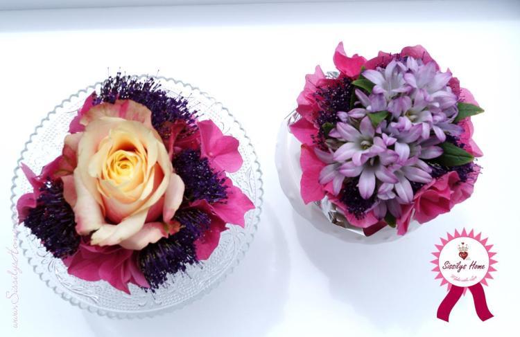 Muffins mit Blumen 34