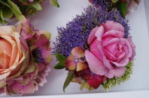 Muffins Blumen
