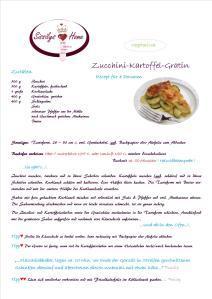 Rezept Zucchini-Kartoffel-Gratin °vegetarisch