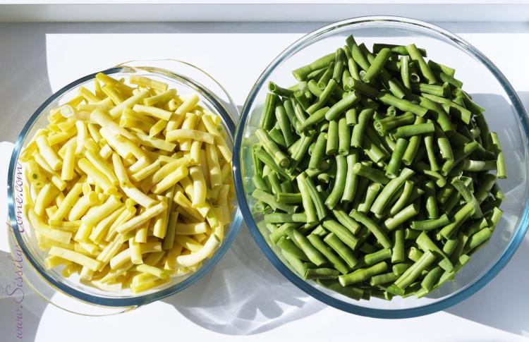 Bohnen, grün & gelb °ungekocht