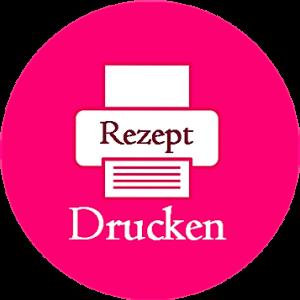 Logo Rezept Drucken rund