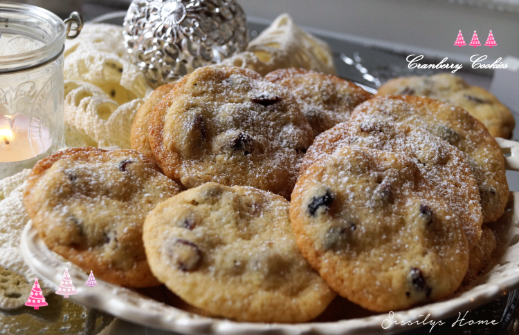 Rezept Cranberry-Cookies