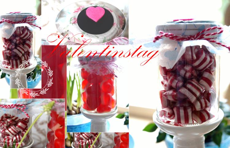 Titelbild Valentinstag DIY Bonbon und Herzen im Glas