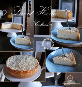 Käsekuchen Zitrone Collage